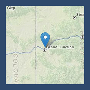 Map to Grand Valley OHV Area