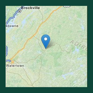Map to Adirondack ATV Riders Club