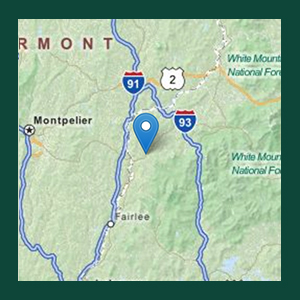 Map to Ammonoosuc Valley ATV Club
